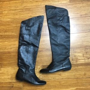 Chinese Laundry Shoes - Chinese Laundry Flat Over The Knee Boots 8